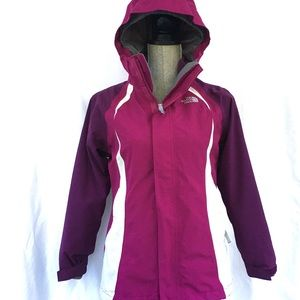 The North Face Girl's 3 in 1 Large Magenta Jacket